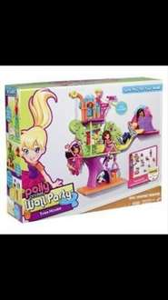 Polly Pocket Wall Party Treehouse £2.99 @ Home Bargains