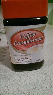Coffee compliment - 39p @ Home bargains