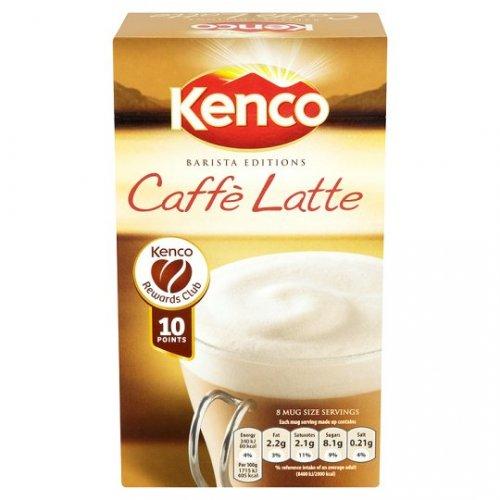 Kenco Caffe Latte 8 Sachets 158G Was 2.50 now £1.25 @ Tesco