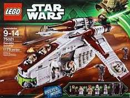 Lego Star Wars 75021 Republic Gunship @ Amazon £82.00p