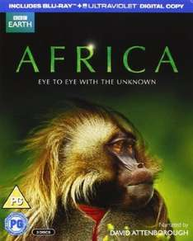Africa bluray narrated by David Attenborough £13 @ Amazon