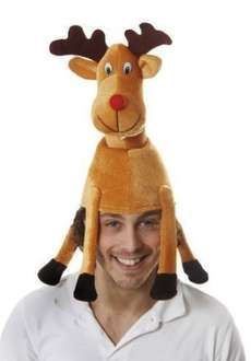 Adult Xmas Reindeer Hat £5.14 FREE UK delivery sold by  Accessory-Shop @ Amazon