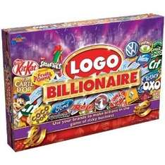 Billionaire Logo Board Game only £12.49 delivered Amazon