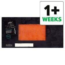 Tesco Finest scottish smoked salmon 300g only £7.50, better than half price