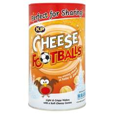 Jacob's CHEESE FOOTBALLS AND CHEDDERS CADDY 150G £1 IN ICELAND STOCK UP FOR CHRISTMAS