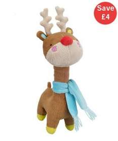 Cuddly Reindeer Toy £4 @ mothercare (free click and collect)