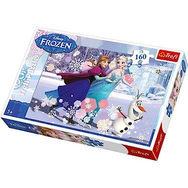 Disney Frozen Ice Skating Jigsaw Puzzle - 160 Pieces 50%off - £4.00 @ thetoyshop.com