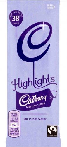 FREE Cadbury Highlights Milk Chocolate Fairtrade (11g) via TCB app. 4 for £1 @ Asda, Tesco & Morrisons...