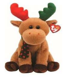 TY Beanie Babies Harold the Christmas Reindeer £6.95 Sold by Plushtoys and Fulfilled by Amazon   (free delivery £10 spend/prime)