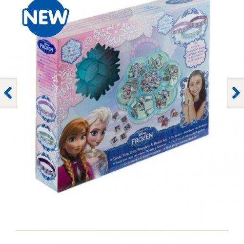 Frozen create your own bracelet £6.99 @ B&M  instore
