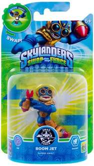 Skylanders Swap Force - Swappable Character Pack - Boom Jet (Xbox 360/PS3/Nintendo Wii U/Wii/3DS) £4.99  (Free Del £10 spend / Prime)