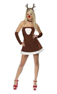 Red Hot Reindeer Costume £14.99 @ Dress The Part