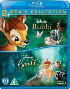 Bambi / Bambi 2 (Double Pack) Blu Ray £11.99 delivered @ The Hut