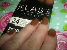 Myleene Klass Nail Wraps, in Chocolate Brown only,39p @ Discount Uk