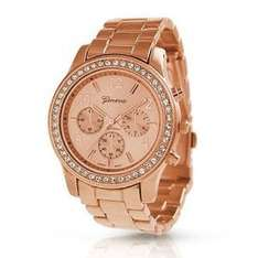 Ladies Watch £5.48  (Free Del £10 spend / Prime) @ Bentley's Bargain Warehouse Fulfilled by Amazon