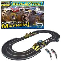 Scalextric 1:32 Scale Monster Truck Mayhem Race Set £64.99 delivered (was £99.99) at Amazon