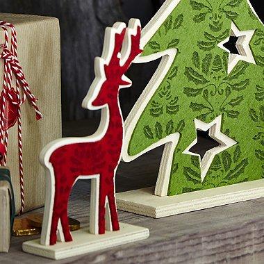 Lakeland festive felt reindeer half price £1.99 free click and collect