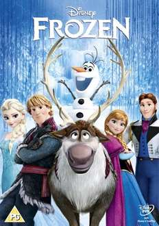 2 x Frozen [DVD] £8.98 delivered with Mastercard code/2 x Frozen (Blu-ray) £14.98 (£8.98 delivered with Mastercard code)