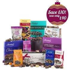 """Thorntons Loads of Chocolate Hamper (approx. 1.6kg!!), was £50... ONLY £20 + p&p with code """"hampers"""" or £17.60 with Quidco!!!! @ Thorntons"""