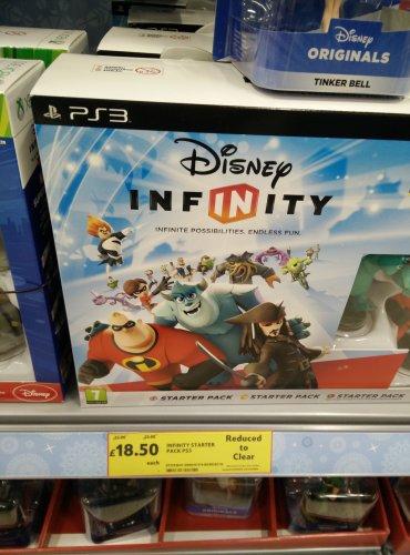 Disnep Infinity starter PS3 £18.50 @ Tesco instore