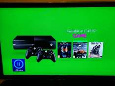 Xbox One with 2 controllers Halo, Forza 5 and COD Advanced Warfare £349.99 @ Game
