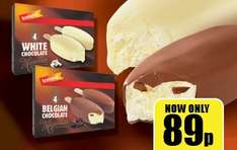 Iceland 4 Pack Belgian Chocolate Majestics 480ml 0.89p @ iceland