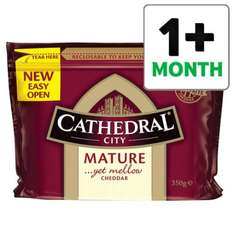 Cathedral City Mature Cheddar 350G £2.00 was £4.00 @ Tecso
