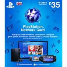 £105 worth of playstation network vouchers for £85 (with code) @ Tesco possible £100 for £80 if they get more stock (1.5% Quidco)