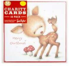 Morrisons 10 charity xmas cards for £1