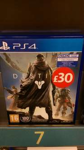 Destiny PS4 £30 in Morrisons