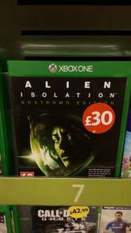 Alien Isolation Nostromo Edition PS4/Xbox One £30 in Morrisons