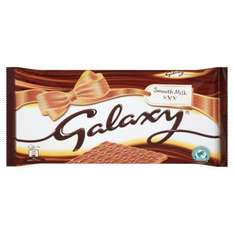 Galaxy Chocolate Massive 390g Bar at Morrisons only £2.00