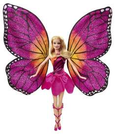 Barbie Mariposa & the Fairy Princess: Mariposa Doll £12.99 delivered at Netprice direct / Amazon