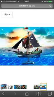 Playmobil RC pirate ship Amazon £29.99 delivered at Amazon