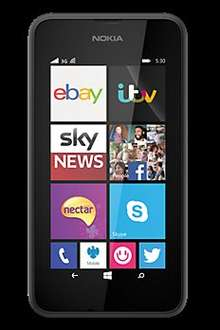 Nokia Lumia 530 £19.95 -Unlocked  PAYG Upgrade(on vodafone and virgin Pay as you go) at Carphone Warehouse