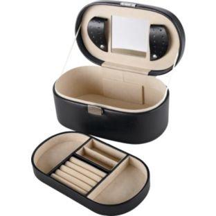 Black oval jewellery box  now £6.25 @ argos