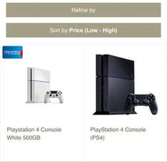 Ps4 White console +2 game £339 @ tesco direct