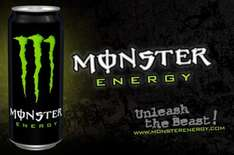 monster energy 4 500 ml cans for 3.00 @ one stop convenice stores