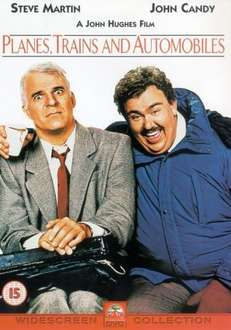 Planes, Trains and Automobiles - £3.40 DVD   (free delivery £10 spend/prime)