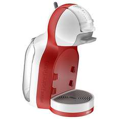 STILL AVAILABLE IN-STORE!.. NESCAFÉ® Dolce Gusto® Mini Me Automatic Play & Select by De'Longhi, Red / White. Back in Stock £29 at John Lewis
