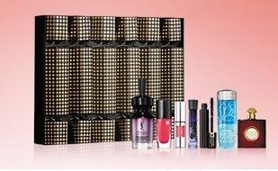 Designer luxury beauty crackers John Lewis Worth £84  - Including - Yves Saint Laurent, Lancôme and Giorgio Armani £20