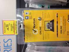 Norton Online Backup 25GB 1 year subscription £6.75 reduced from £40 @ Tesco