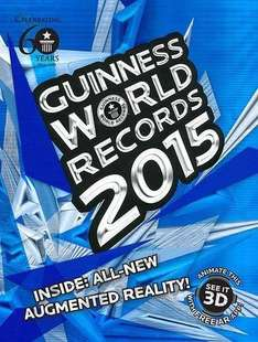 Guinness World Records 2015 £5.00 @ Amazon with Prime/£10 Spend