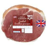 Waitrose smoked gammon. Misprice, £6.74 for 6.74Kg. After offer will be £408.38