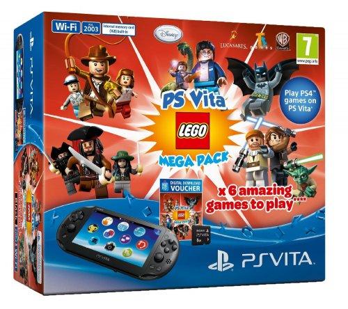 PS Vita Lego Mega bundle 8gb card & Minecraft Physical Copy @ Argos for £139.99