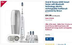 The Oral B TriZone® 6000 electric toothbrush Was £229.99 @ Boots