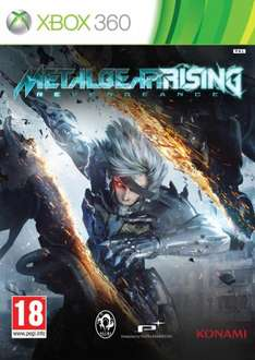 Metal Gear Rising : Revengeance (Xbox 360) - £4.50 At Tesco Direct