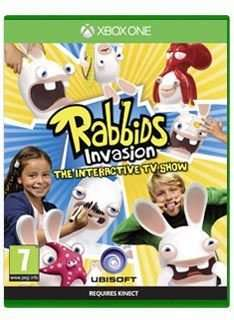 RABBIDS INVASION ON XBOX ONE AND PS4 £14.85 @ simplygames