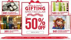 BHS GIFTING SPECTACULAR - Up to 50% off