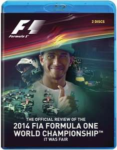 F1 2014 Review (2 Disc) Blu-ray £13.59 @ Duke video USE CODE  TalkF1